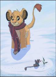 Snow Berries by SimbaGirl