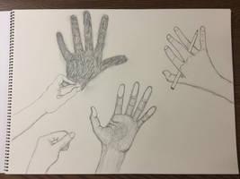 Hand practice by KurtisAllison