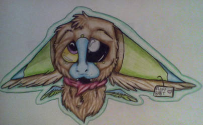 Warble's Puppy Eyes (Finished Collab) by Clawbiter