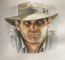 Indiana Jones by missr00t