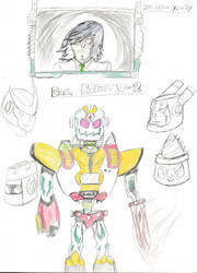 D.O.C. Robot V.2 and Dr.Victor X. Wily by GavinDragon