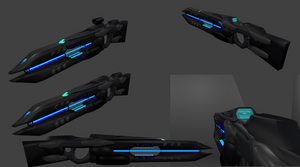 Excilias III T1200J Antimatter Beam Rifle by Marksman104
