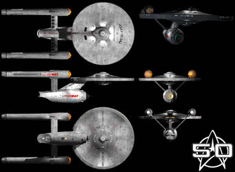 Not JJ's Enterprise -- Finalized...  I hope by NewDivide1701