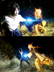 Sasuke and Naruto - 641 FIT by lanmeimeia
