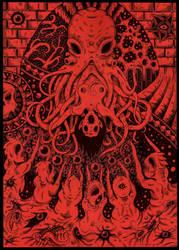 Cthulhu Bride by ZawArt