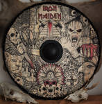 Iron Maiden viking shield by ZawArt