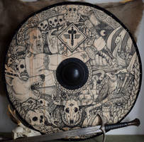 Manowar viking shield by ZawArt