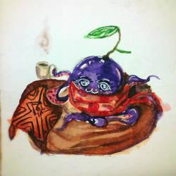 Octoplum by Elleween
