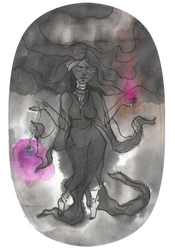 Ink magic by Elleween