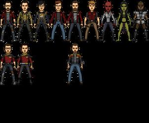 Star Trek Castaways Cast 2.0 by SpiderTrekfan616