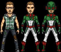Tachyon's new look by SpiderTrekfan616