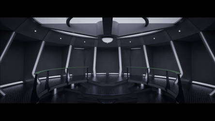 Castaways Stargazer Pre-Refit bridge by SpiderTrekfan616