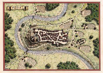 Tuvia - Town map by Brian-van-Hunsel