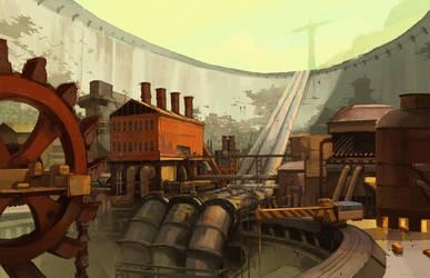 Pit City Wideshot by niuner