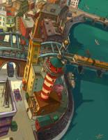 Aqua City by niuner