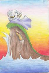 The Knight's Lonely Perch by ssbbforeva