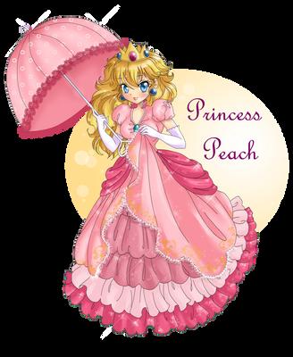 Princess Peach by Candy-DanteL