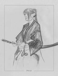 Samurai Girl by OAPM