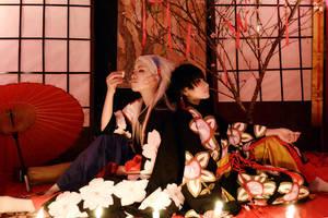 Gate 7_Sakura and Tachibana by HAN-Kouga