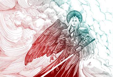 Sephiroth by AleksiRemesArt