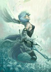 Aqua by AleksiRemesArt