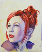 Realistic Anne Bonnie portrait by TimYates