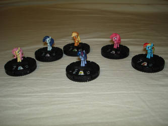 My Little HeroClix: Battling is Magic by MillenniumFalsehood