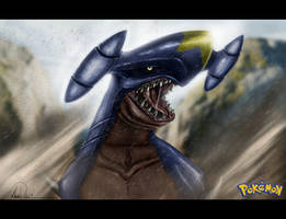 Garchomp by GNDillustrations