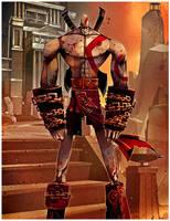 kratos by betteo