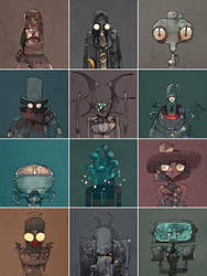 12.suspects by betteo