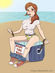 Carol Beating the Heat by HotGum