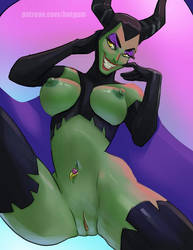 Maleficent by HotGum