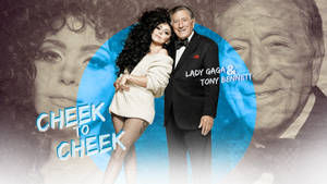 Cheek to Cheek - Tony and Gaga by Panchecco