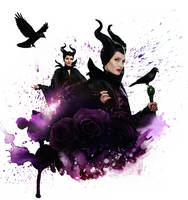 Maleficent (Angelina Jolie version) by Panchecco