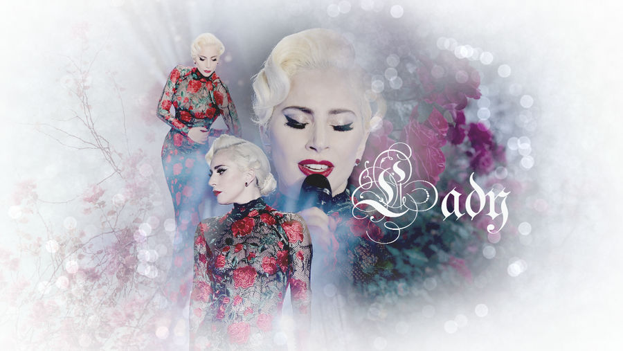 Lady Gaga (Romance - Wallpaper) by Panchecco