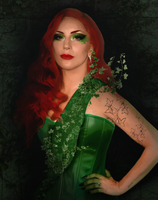 Lady Gaga as Poison Ivy  (Concept #3) by Panchecco