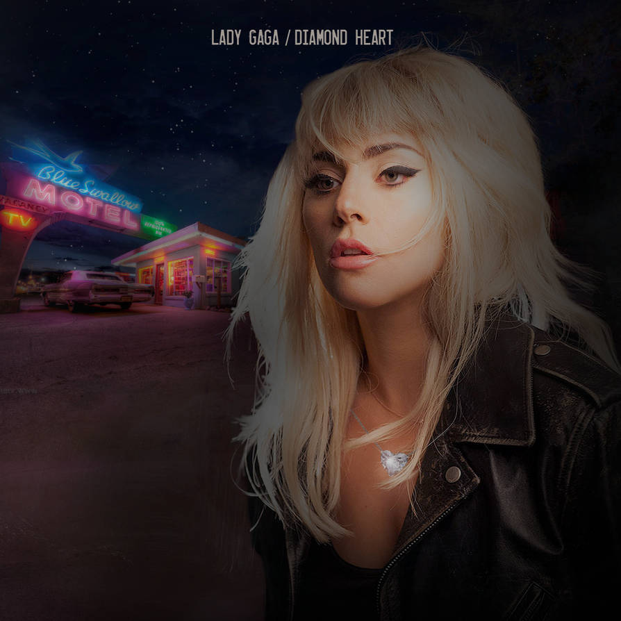 Lady Gaga - Diamond Heart (Single Cover) by Panchecco