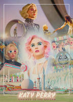 Katy Perry - Chained To The Rhythm (MV Poster) by Panchecco