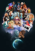 Lady Gaga in 2017 | Tribute Poster by Panchecco