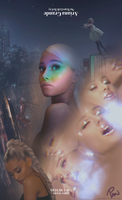 Ariana Grande - No Tears Left To Cry (Poster) by Panchecco