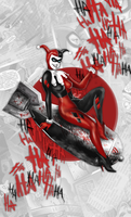 Harley Quinn - Digital Painting by Panchecco