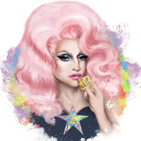 Miz Cracker - RPDR S10 (Digital Painting) by Panchecco