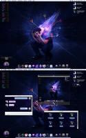 Aggressive blue-purple. by Ex3cut3r