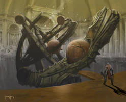 God of War - The Astrolabe by Raggedy-Annedroid