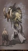 God of War - Callisto by Raggedy-Annedroid