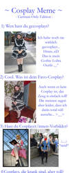 Cosplay Meme - German by IsiFalcon