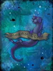Underwater Otter by horizonbound