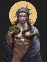 Shiva by yangzheyy