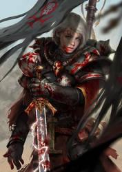 Battle Sister by yangzheyy
