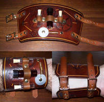 Steampunk Cuff 7 by Steampunked-Out